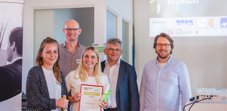 Die Rheinland-Pitch Gewinner vom 08.05.2017 in Düsseldorf